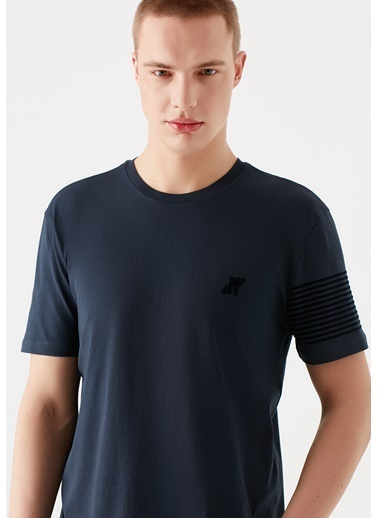 Mavi Pro Logo Baskılı  Tişört Lacivert